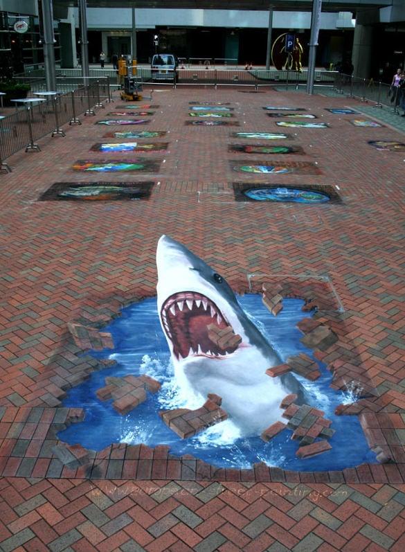 dolphin 3d art