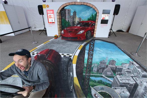 car 3d art