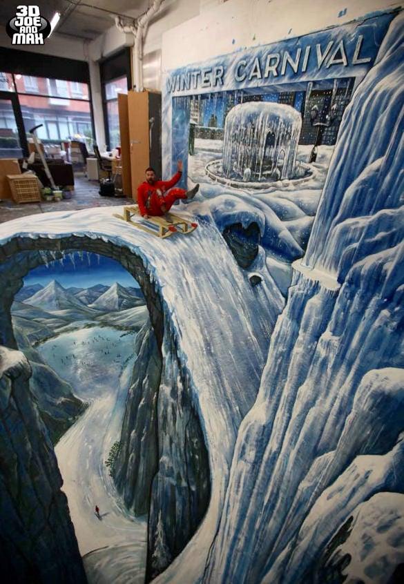 winter 3d art