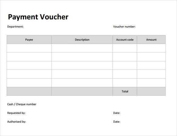 payment coupon template free download1