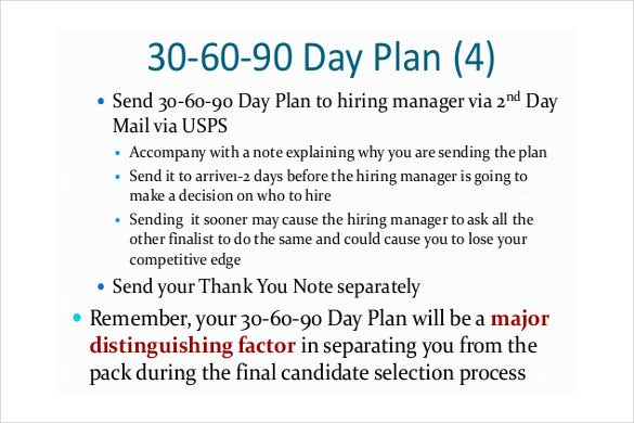 16+ 30 60 90 Day Action Plan Template - Free Sample, Example, Format ...