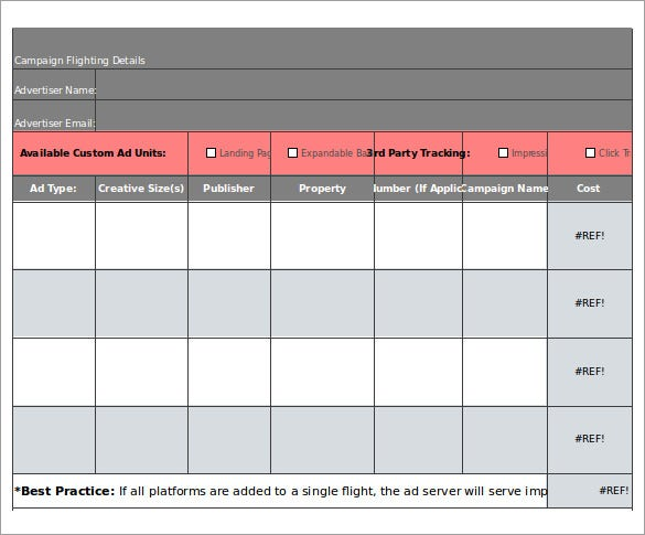 simple insertion order template