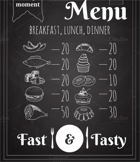 30+ Dinner Menu Templates U2013 Free Sample, Example Format Download .