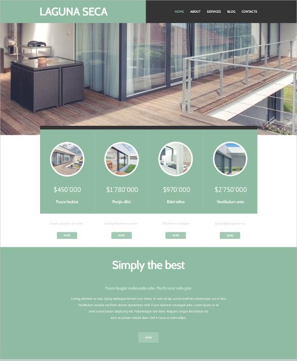 real estate land brokers wordpress theme