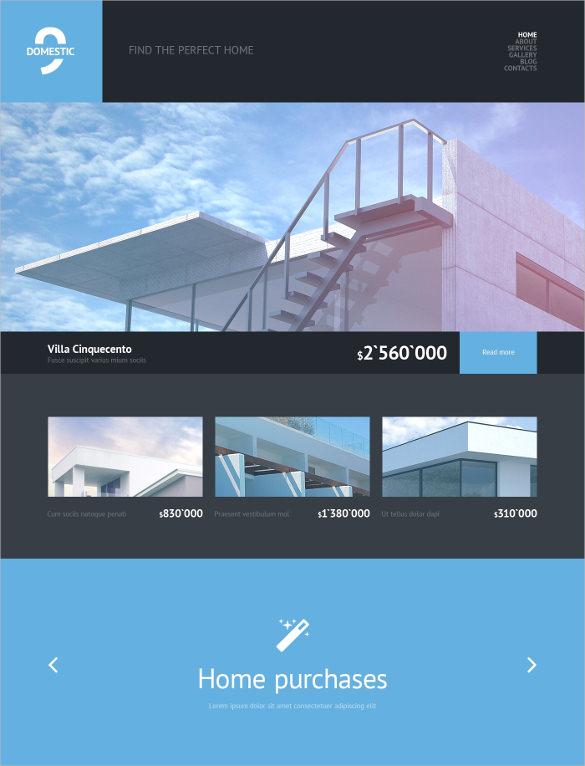 primium real estate agency wordpress theme
