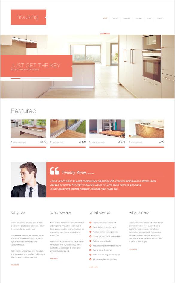 real estate renting agency wordpress theme