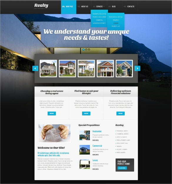 best real estate agency wordpress theme