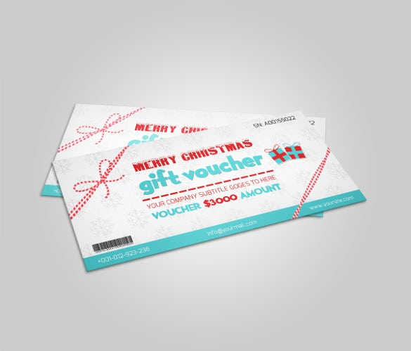 customizable christmas coupon template download