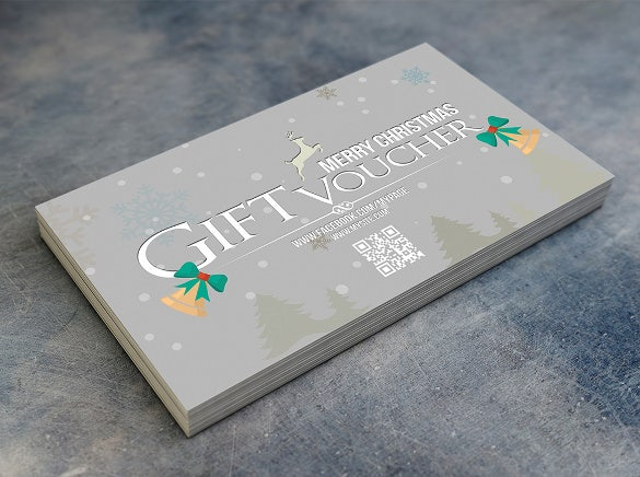 corporate christmas coupon template download