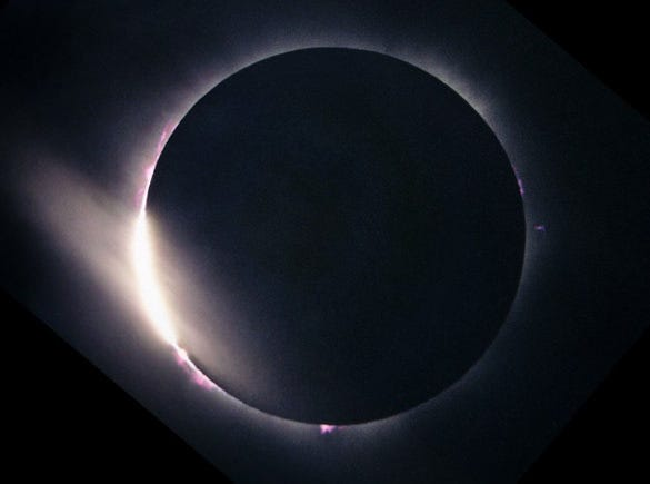 total solar eclipse astrophotography