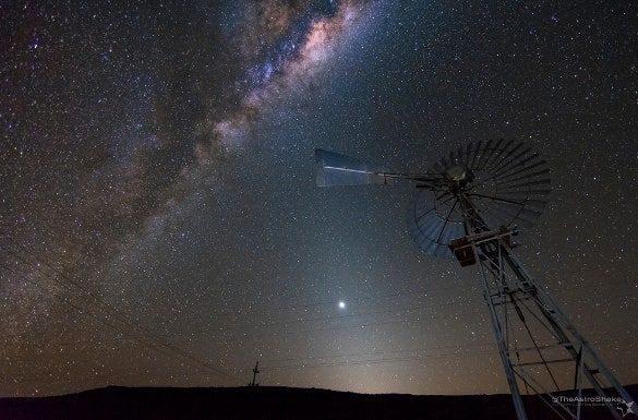 zodiacal windmill astophotography download