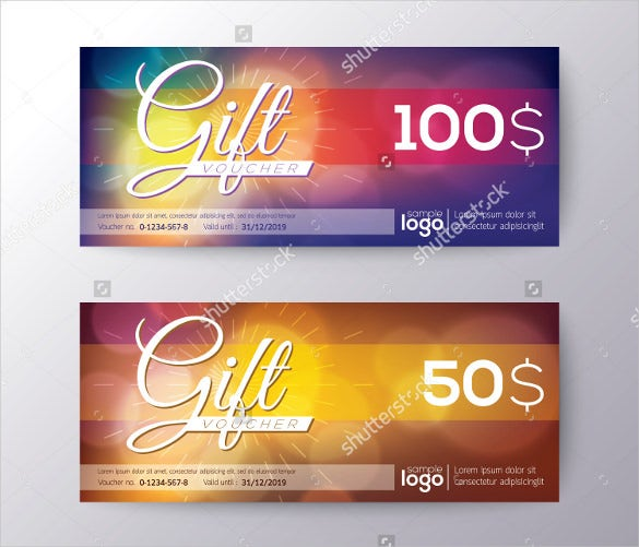 attractive gift coupon template download