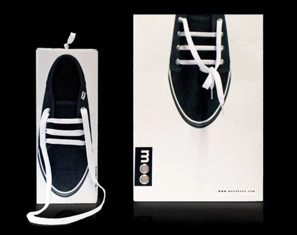 shoe designed handcarry creative paper packaging