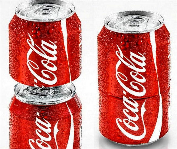 cocacola can creative cool packaging