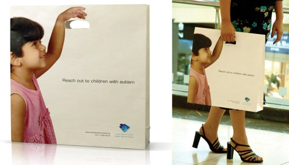 hand carry creative paper packaging