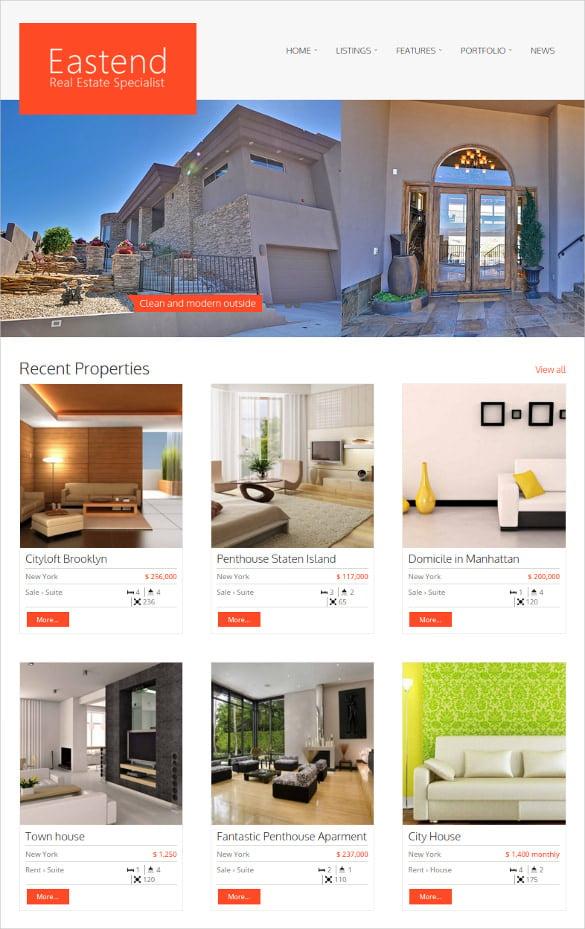 beautiful location real estate wordpress theme
