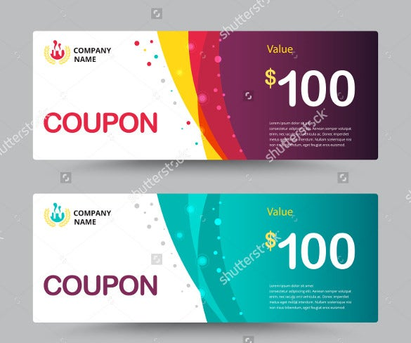 28  gift coupon templates