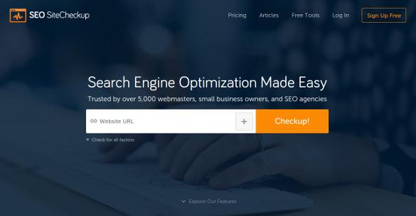 seo site checkup tool