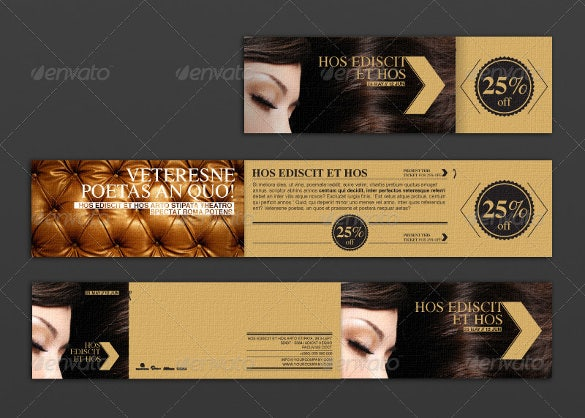 colorful background coupon flyer template