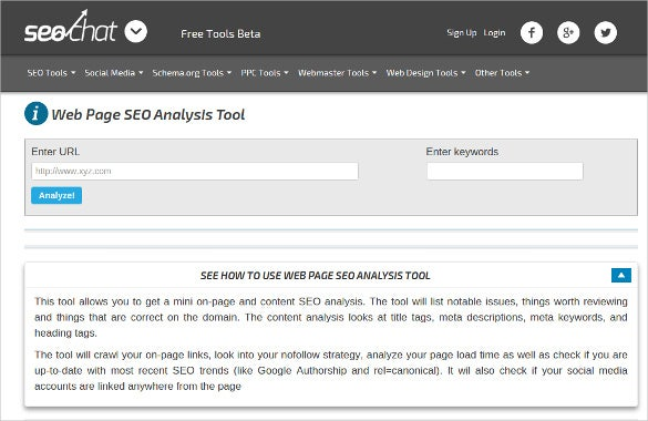 21+ Best SEO Analysis Tools | Free & Premium Templates