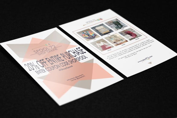 19  coupon flyer templates