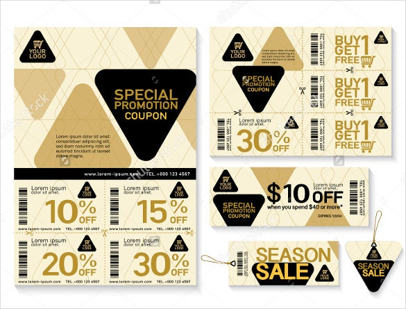 editsble coupon flyer template download