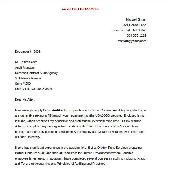 Sample Cover Letter Templates Sample Cover Letter Templates How Do