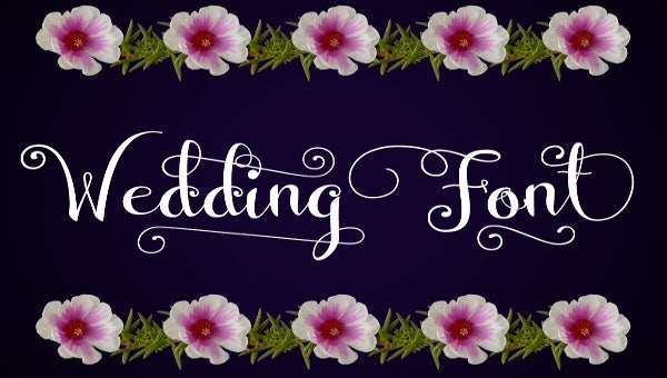 Wedding Fonts 25 Free Psd Ai Vector Eps Format Download