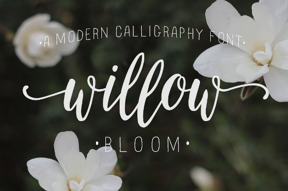 Bloom Wedding Font