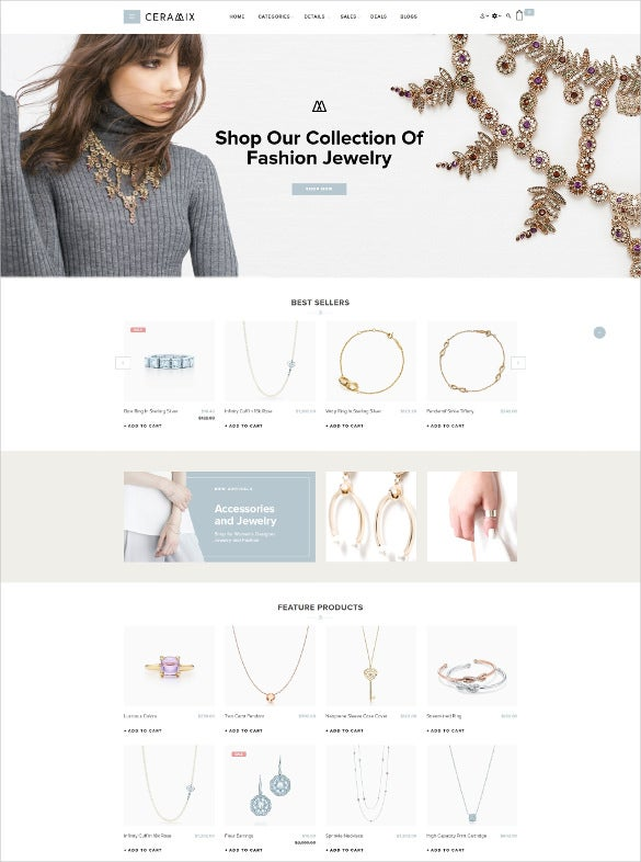 advanced multipurpose jewelry opencart theme