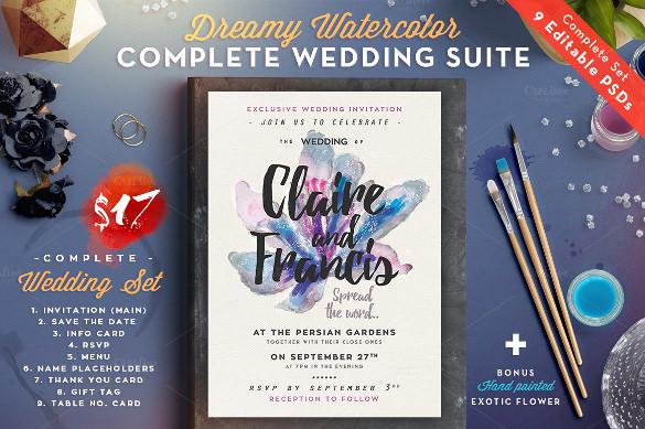 designed wedding font