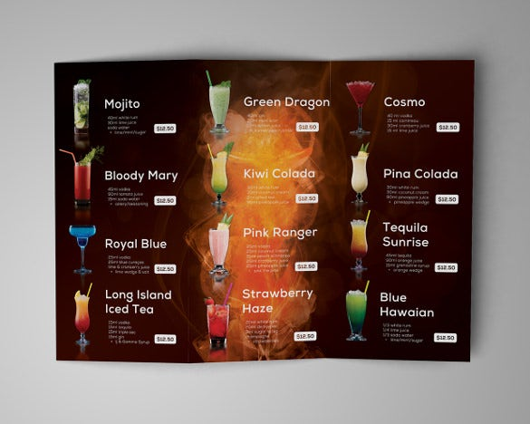 drinks menu design koni polycode co