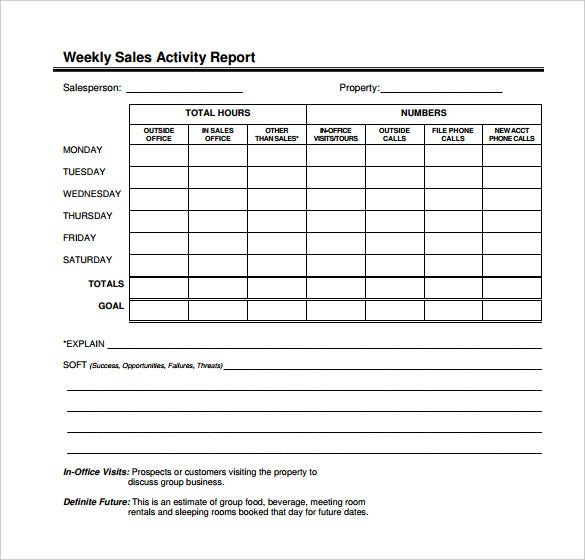 weekly activity report template 23 free word excel ppt pdf format download free. Black Bedroom Furniture Sets. Home Design Ideas