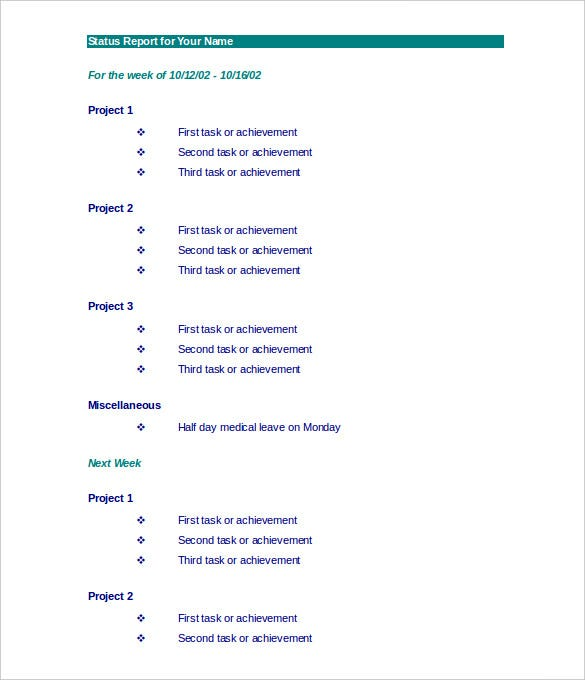 Formal Report Template Word Vosvetenet – Formal Report Template