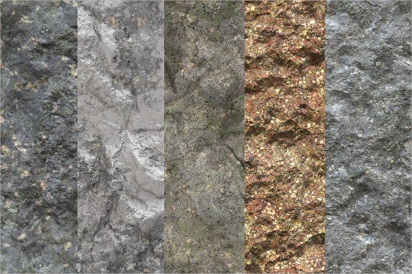 10 stone wall rock textures