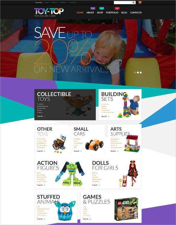 free toys store woocommerce php theme11