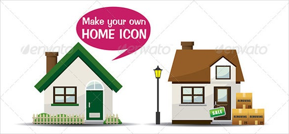 make your own home icon