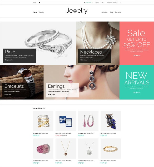 valuables jewelry virtuemart template