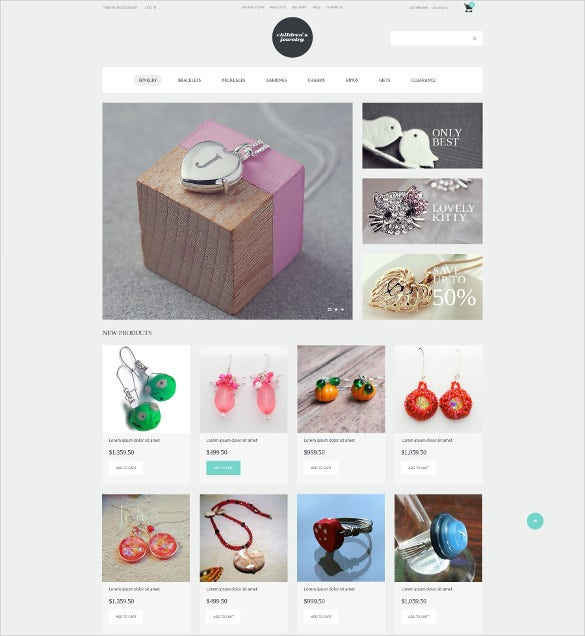 fashionista jewelry virtuemart template