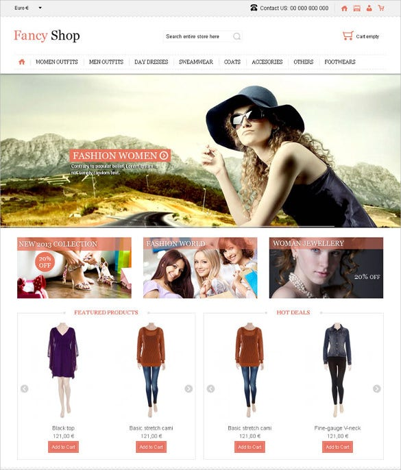 fancy jewelry virtuemart responsive theme