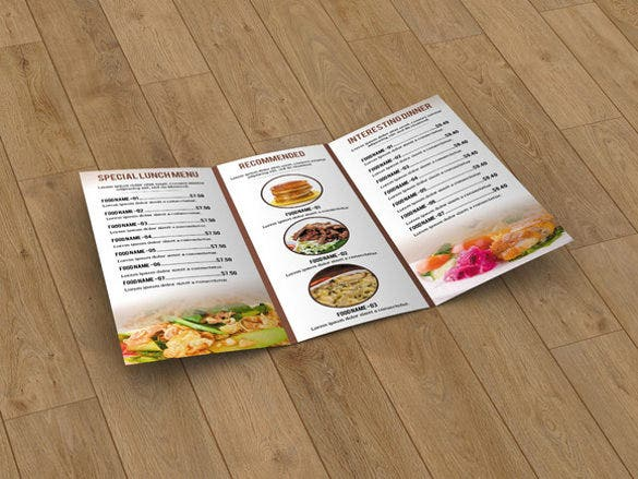 sample food menu template1