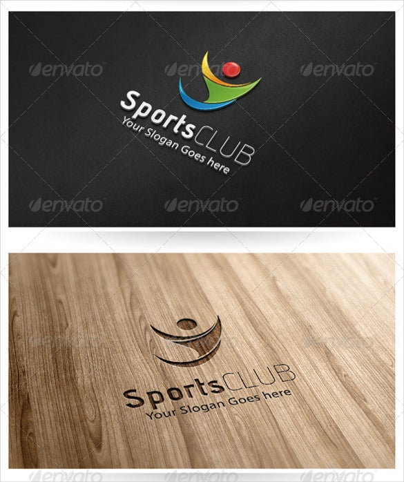 modern sports club logo download