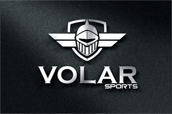 stylish sports logo template download