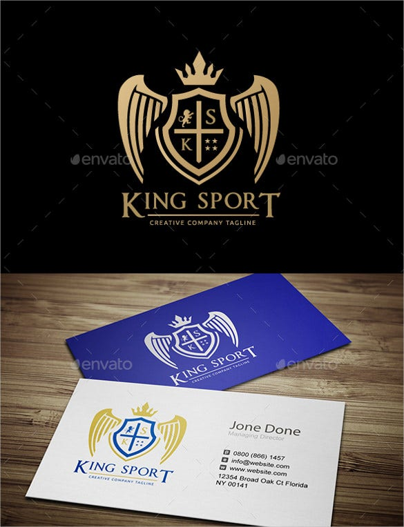 unique sport logo design