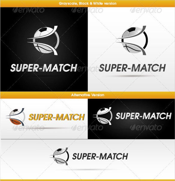 simple sport website logo download