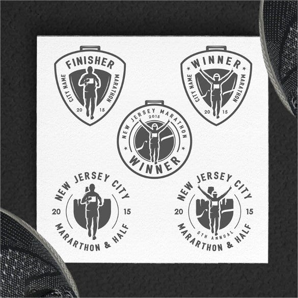marathon logo designs download