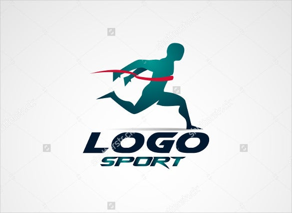 running club logo design download