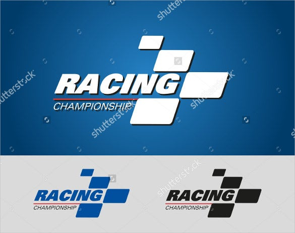 amazing racing sports logo download