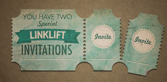 linklift invites round creative ticket