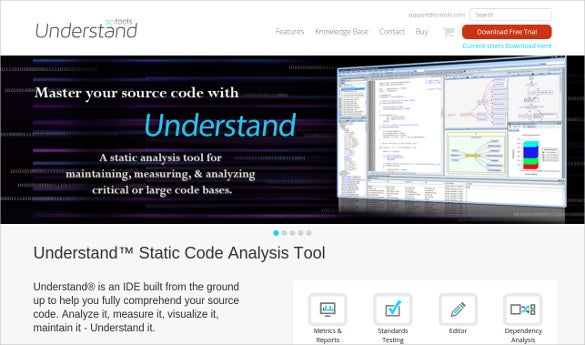 understand static code analysis tool download